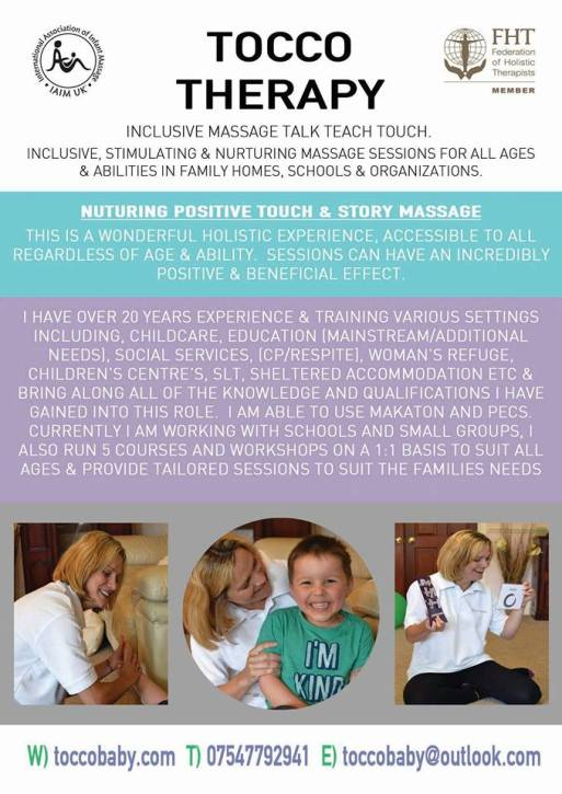 massage children inclusion austism home needs disablity newcastle sessions story stimulating nurturing